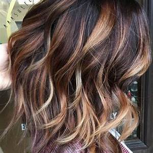 Hair Color Trends 2017/ 2018 Highlights : Dark brown with ...