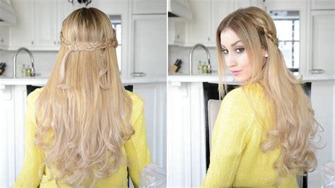 dutch braided     hairstyle fancy hair
