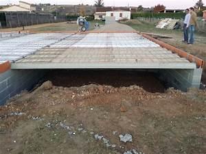 Terrasse sur vide sanitaire une partie ouverte 6 messages for Terrasse sur vide sanitaire