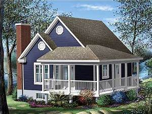 Cottage house plans with porches cottage house plans with for Cottage house plans with back porches