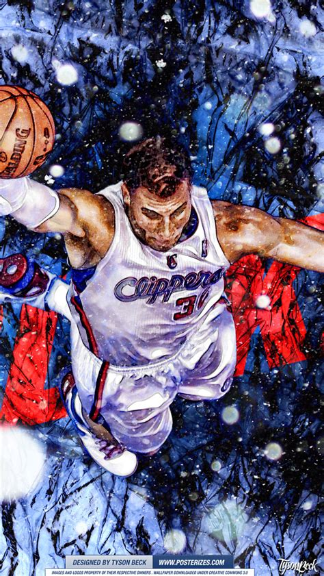 blake griffin xmas wallpaper posterizes nba