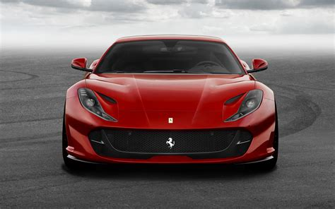 ferrari  car superfast front view wallpaper hd