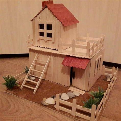 popsicle stick house plans