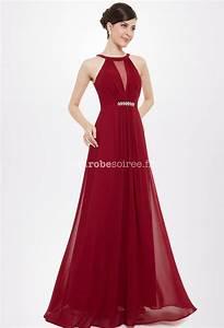 robes elegantes robe soiree pas cher bordeaux With robe bordeaux pas cher