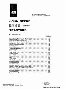John Deere 5000 Series Tractor Sm2040 Service Manual Pdf