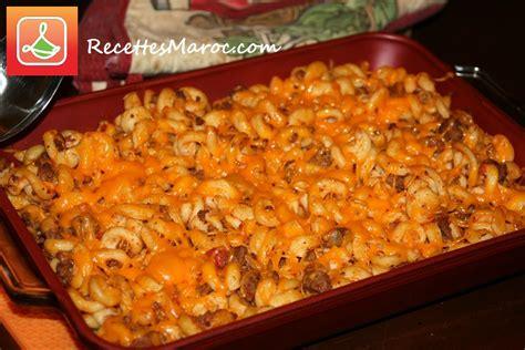 recette gratin de p 226 tes 224 la viande hach 233 e recettes maroc