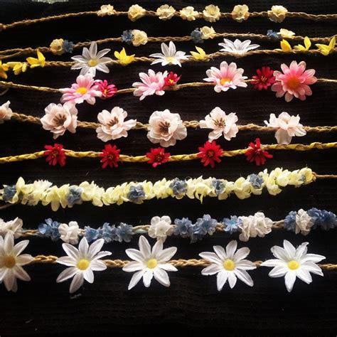 Hippie Headbands On Pinterest Flower Headband Hippie