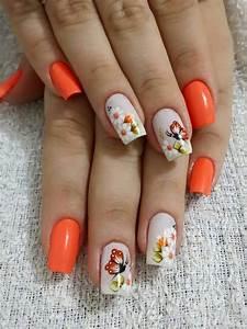 Ongles Pinterest : hermosas u as mariposa pinterest couleurs de vernis ongles ongles y vernis ~ Melissatoandfro.com Idées de Décoration