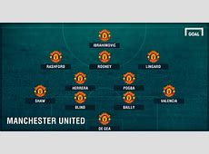 Derby de Manchester United vs City, les compositions