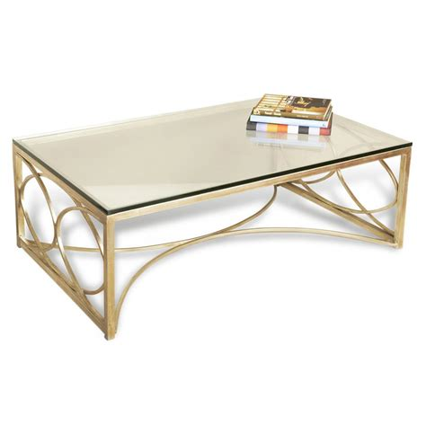 Mackenzie Antique Champagne Silver Coffee Table Kathy
