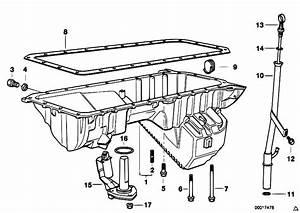 Original Parts For E38 728i M52 Sedan    Engine   Oil Pan