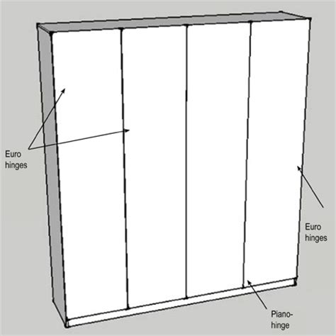 Diy Bedroom Cupboards Plans by Home Dzine Bedrooms How To Build And Assemble Built In