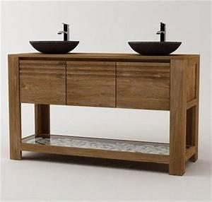 17 best images about salle de bain on pinterest bathroom With salle de bain design avec vasque double en pierre