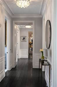 best 25 grey hardwood floors ideas on pinterest grey With best brand of paint for kitchen cabinets with wall art ideas for hallways