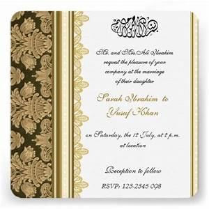 the best muslim wedding invitations wedding celebration With samples of muslim wedding invitation