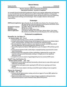 entry level analyst resume exle business analyst resume exles template learnhowtoloseweight net