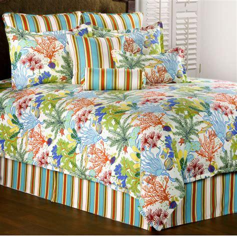 island paradise coastal comforter bedding