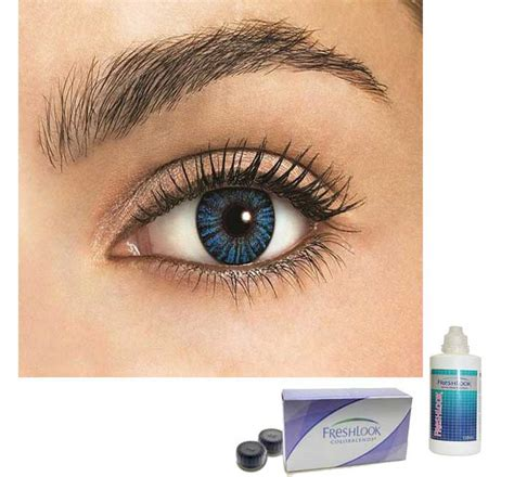 freshlook colored contacts freshlook contacts lens blue fc04 priyoshop