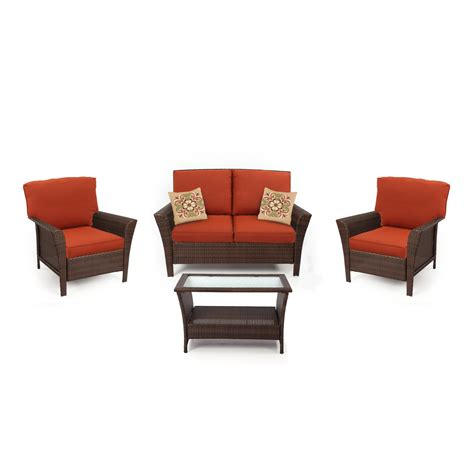 kmart conversation patio sets ty pennington style parkside seating set in sears