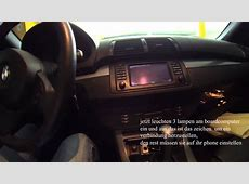BMW X5 2006 IPhone bluetooth verbinden YouTube