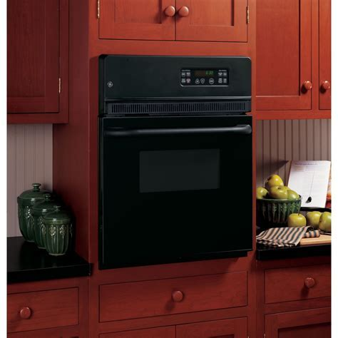 "JRP20BJBB   GE 24"" Electric Single Self Cleaning Wall Oven"