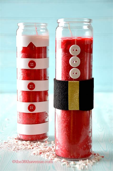 the 36th avenue christmas gift diy candles the 36th