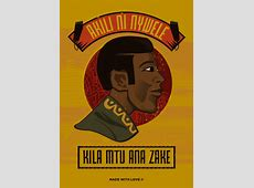 Read these beautiful Kiswahili proverbs, illustrated for