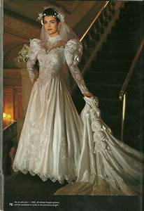 an inspiration from nineties style wedding gowns for With 90s wedding dress