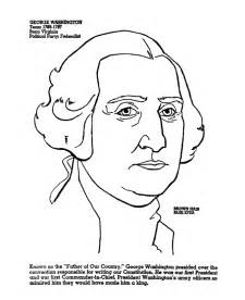 coloring page of george washington and the cherry tree images