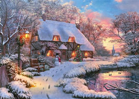 Winter Cottage Winter Cottage By Dom1 Vue Seasonal