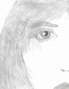 Drawing Of Me Right Side  Face By Firecrystal345 On Deviantart