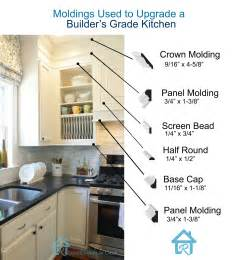 kitchen cabinet trim molding ideas remodelando la casa adding moldings to your kitchen cabinets