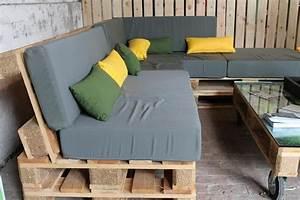 Salon De Jardin Palettes : palettes bois pour construire un jardin potager suspendu ~ Farleysfitness.com Idées de Décoration