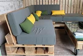 fabriquer salon de jardin en palette de bois - Fabriquer Un Salon De Jardin En Palette