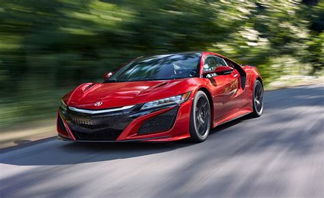 acura supercar 2017 acura nsx supercar full test review car and driver