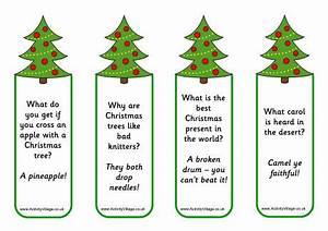 Christmas Tree Jokes Bookmarks