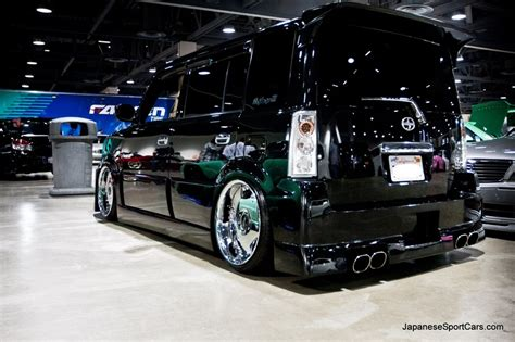 custom black scion xb  garson geraid full body kit