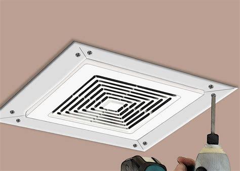 install  bathroom fan exhaust vent  ways