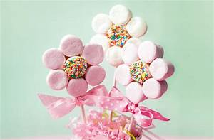 Marshmallow flowers - goodtoknow