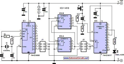 optical pulse generator circuit diagram
