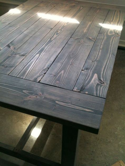 Tisch Holz Grau by 25 Best Ideas About Gray Wood Stains On Paint