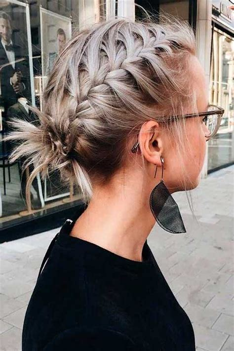 17 Easy Updo Hairstyles for Short Hair Short Hairstyles