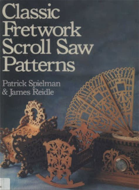 woodworking books magazines classic fretwork scroll