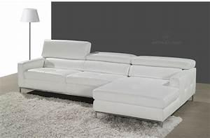 canape angle cuir blanc miliboo canap d 39 angle en cuir With tapis persan avec canapé d angle cuir xxl