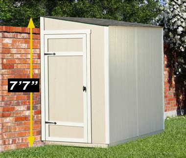 8 By 4 Shed by 8 215 4 Lean To Shed For Compact Storage Yardline