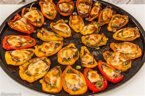cuisine poivron mini poivrons farcis aux sardines et à la scamorza