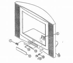 Jvc Television Cabinet Assy Parts