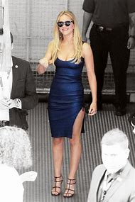 Jennifer Lawrence Blue Dress
