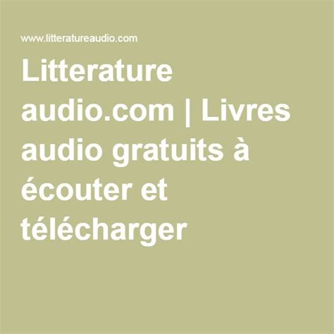 livres audio php telechargement gratuit