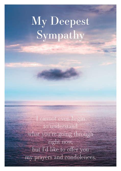 heaven condolence cards send real postcards